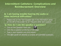 Intermittent Catheters: Complications and Reimbursement Overview