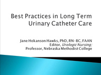 Best Practices in Long-Term Urinary Catheter Care