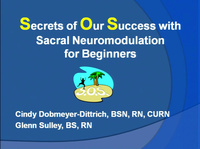 Sacral Neuromodulation: SOS (Secrets of Our Success) for Beginners