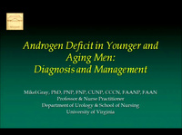 Androgen Deficit in Younger and Aging Men: Diagnosis and Management