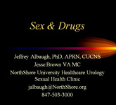 Sex and Drugs