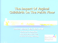 The Impact of Vaginal Childbirth on the Pelvic Floor