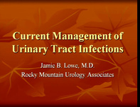 Current Management of Urinary Tract Infections