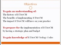 "ICD-10 Update - ""Trick or Treat"" Planning, Preparing and Moving Forward"