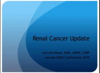 Renal Cancer Update