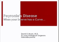 "Peyronie's Disease: ""When Your Swerve Has A Curve"""