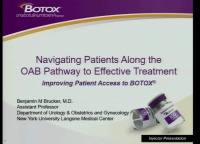 Navigating Patients Along the OAB Pathway to Effective Treatment