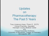 Updates on Pharmacology: The Past 5 Years