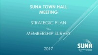 Town Hall with SUNA Leaders