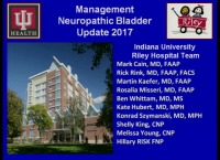 Neuropathic Bladder Update: 2017