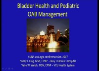 Bladder Health and Pediatric Overactive Bladder (OAB)