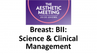 10. Breast: BII: Science and  Clinical Management - 1 CME credit