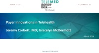 Payer Innovations in Telehealth