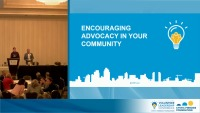 Advocacy: Encouraging Advocacy in Your Community