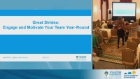 Great Strides: Engage and Motivate Your Team Members Year-Round