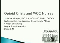 Opioid Crisis and the WOC Nurse Role