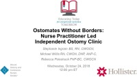 Ostomates Without Borders: Nurse Practitioner Led Independent Ostomy Clinic