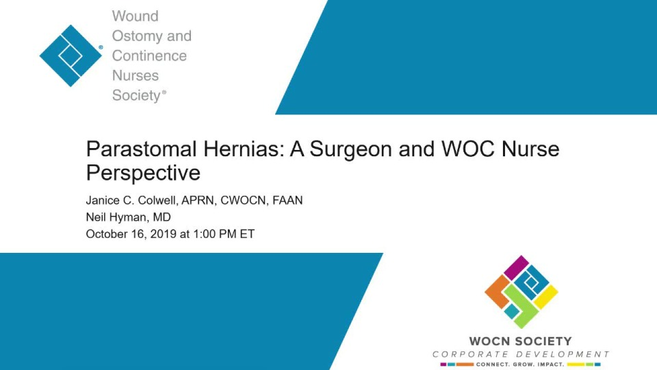 Parastomal Hernias: A Surgeon and WOC Nurse Perspective