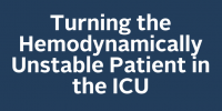 Turning the Hemodynamically Unstable Patient in the ICU