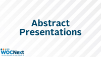 Abstract Presentations