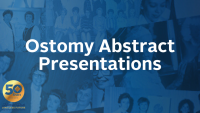 Ostomy Abstract Presentations