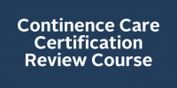Continence Certification Review Course