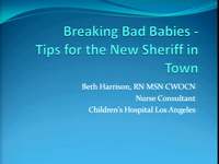 """""""Breaking Bad"""" Babies - Tips for the New Sheriff in Town"""