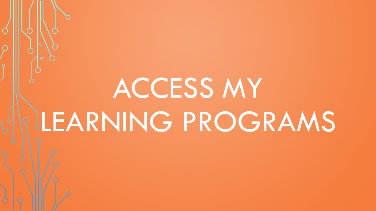 Access My Learning Program
